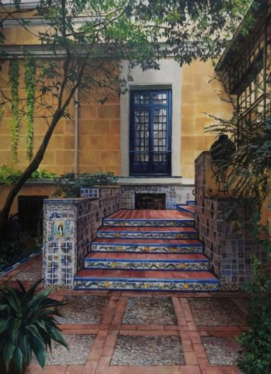 Museo Sorolla-entrada actual|PinturadeCarmen Nieto| Compra arte en Flecha.es