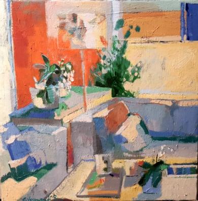 El salón I|PinturadeCarolina Veramendi B| Compra arte en Flecha.es