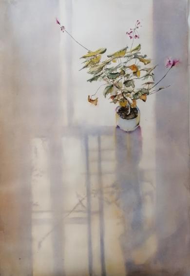Amanece|PinturadeLuis Imedio| Compra arte en Flecha.es
