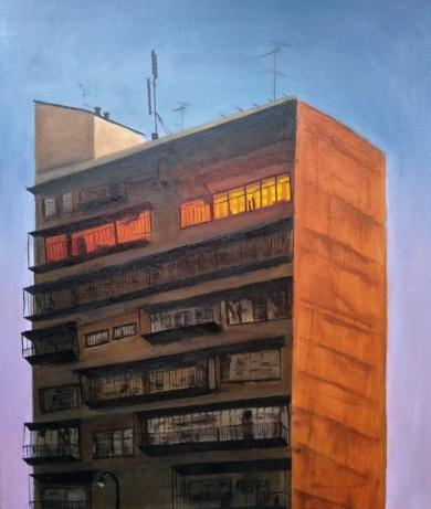 Hasta que amanece|DibujodeTxina Tequis| Compra arte en Flecha.es