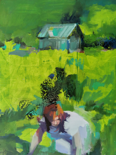 La búsqueda|PinturadeCarmen Montero| Compra arte en Flecha.es