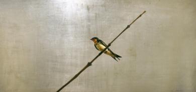 Golondrina sola|PinturadeEnrique González| Compra arte en Flecha.es