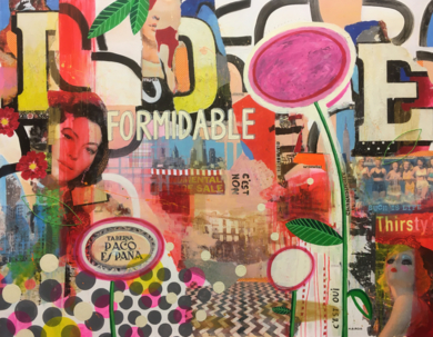 Formidable|CollagedeMaría Burgaz| Compra arte en Flecha.es