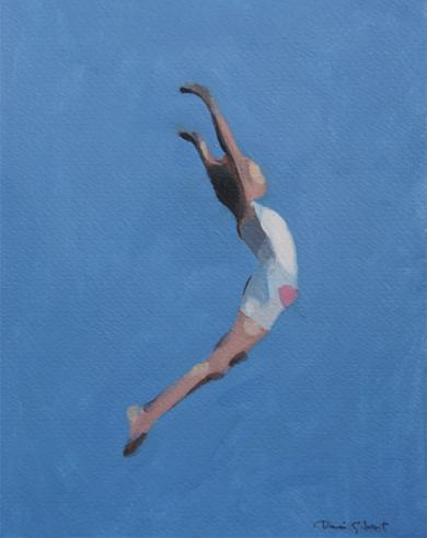 Jump|PinturadeDaniel Gibert| Compra arte en Flecha.es