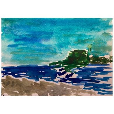 San Sebastián|PinturadeSofía Mestre| Compra arte en Flecha.es