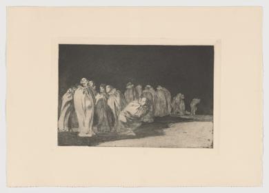 Disparates. Los ensacados (Estampa 8)|Obra gráficadeFrancisco de Goya y Lucientes| Compra arte en Flecha.es