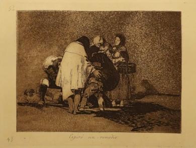 Los Desastres. Espiró sin remedio (Estampa 43)|Obra gráficadeFrancisco de Goya y Lucientes| Compra arte en Flecha.es