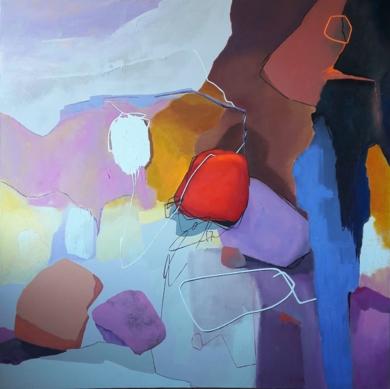 SO LONG MARIANNE - LEONARD COHEN|PinturadeValeriano Cortázar| Compra arte en Flecha.es