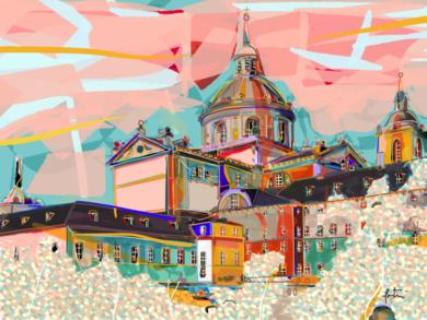 El Monasterio del Escorial|DigitaldeSantiago Esteban Glez| Compra arte en Flecha.es