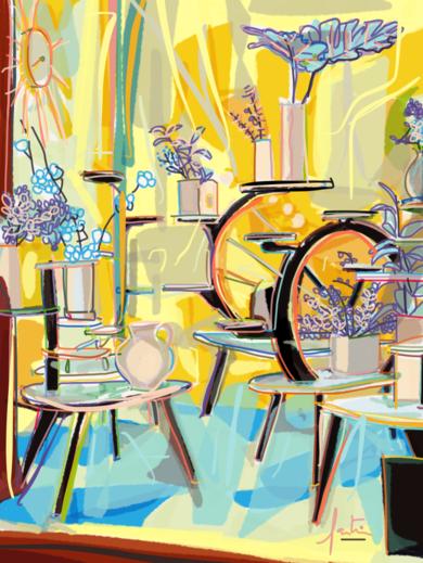 El Escaparate|DigitaldeSantiago Esteban Glez| Compra arte en Flecha.es
