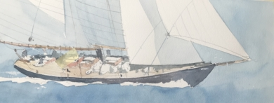 Velero II|PinturadeIñigo Lizarraga| Compra arte en Flecha.es