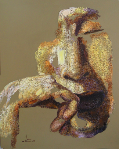 INSOMNIO, (SERIE GEOGRAFÍA HUMANA)|PinturadeJuan Chamizo| Compra arte en Flecha.es