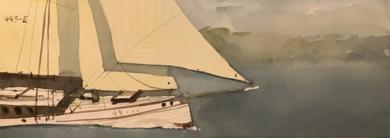 Goleta|PinturadeIñigo Lizarraga| Compra arte en Flecha.es