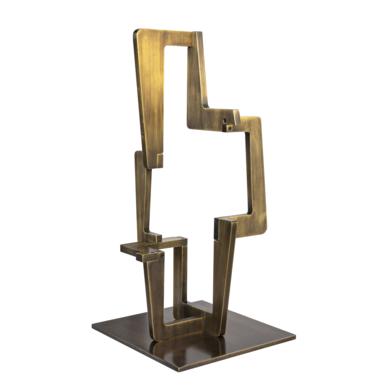 INDUSTRIAL GOLD_03|EsculturadeCandela Muniozguren| Compra arte en Flecha.es
