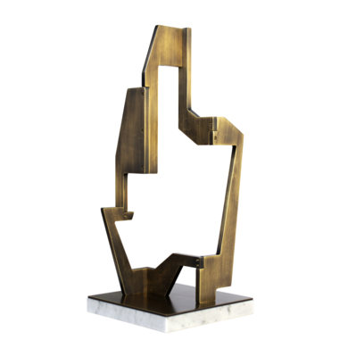 INDUSTRIAL GOLD_06|EsculturadeCandela Muniozguren| Compra arte en Flecha.es