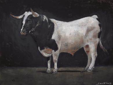 En blanco y negro|PinturadeGonzho| Compra arte en Flecha.es