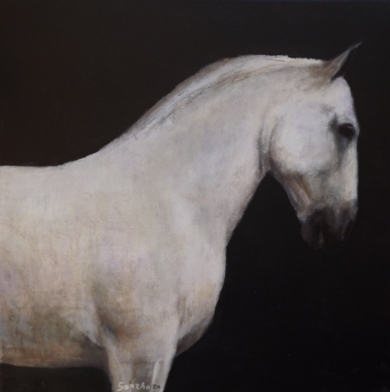 La reunión|PinturadeGonzho| Compra arte en Flecha.es