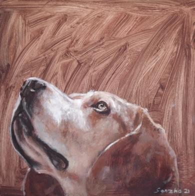 Amén|PinturadeGonzho| Compra arte en Flecha.es