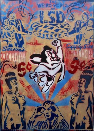 Perception|PinturadeCarlos Madriz| Compra arte en Flecha.es