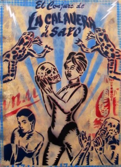 El Conjuro|PinturadeCarlos Madriz| Compra arte en Flecha.es