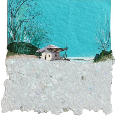 Un lugar frio|CollagedeEduardo Query| Compra arte en Flecha.es
