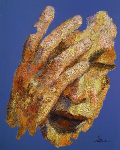 ALBORADA, (SERIE GEOGRAFÍA HUMANA)|PinturadeJuan Chamizo| Compra arte en Flecha.es
