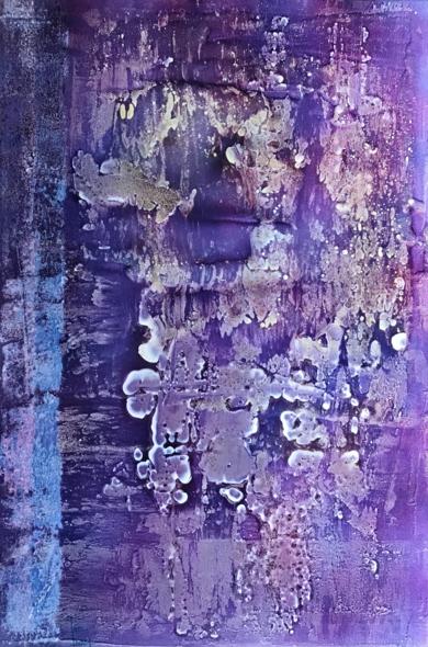 Abstracción floral|PinturadeEnric Correa| Compra arte en Flecha.es