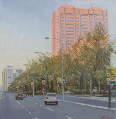 City Twilights|PinturadeIgnacio Mateos| Compra arte en Flecha.es