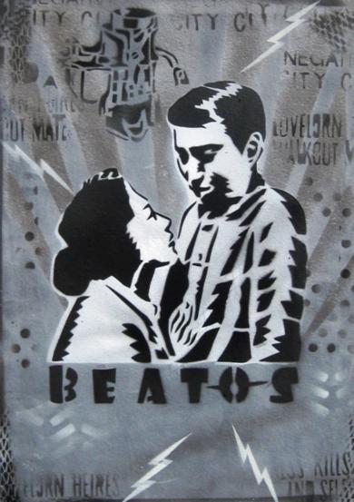 Vicisitudes V (Beatos)|PinturadeCarlos Madriz| Compra arte en Flecha.es