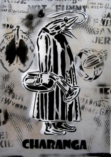 Vicisitudes II (Charanga)|PinturadeCarlos Madriz| Compra arte en Flecha.es