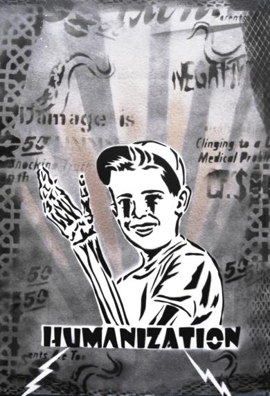Vicisitudes I (Humanización)|PinturadeCarlos Madriz| Compra arte en Flecha.es