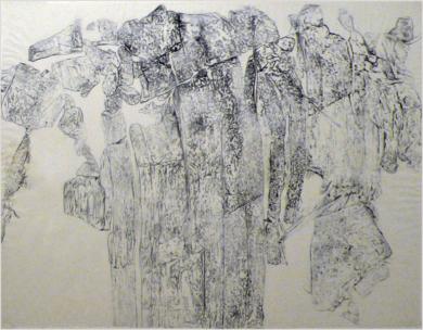 "Miradas II, Obra: ""Miradas de Ordesa"". Juan Guízar|PinturadeJuanGuízar| Compra arte en Flecha.es"