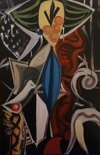 EMPERATRIZ|PinturadeEnrique Porta| Compra arte en Flecha.es