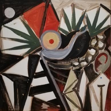 ANUNCIACIÓN|PinturadeEnrique Porta| Compra arte en Flecha.es