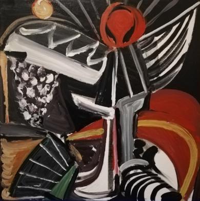 ENTUSIASMO|PinturadeEnrique Porta| Compra arte en Flecha.es