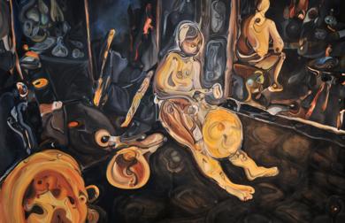© A Fez|PinturadeRICHARD MARTIN| Compra arte en Flecha.es