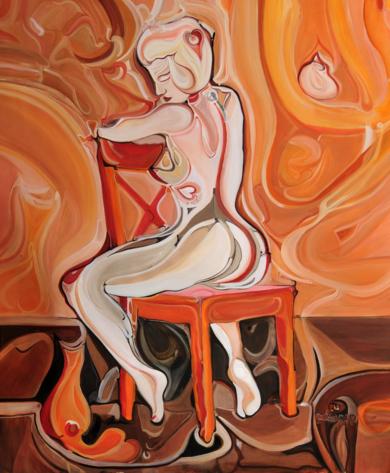 © Curvisme  1´618|PinturadeRICHARD MARTIN| Compra arte en Flecha.es