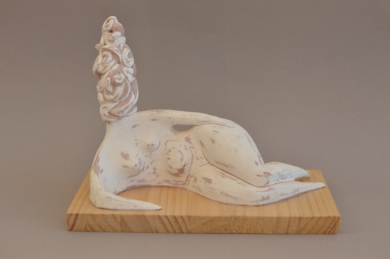 Mujer paranoica, serie Estados de ánimo|EsculturadeMerche Ber| Compra arte en Flecha.es