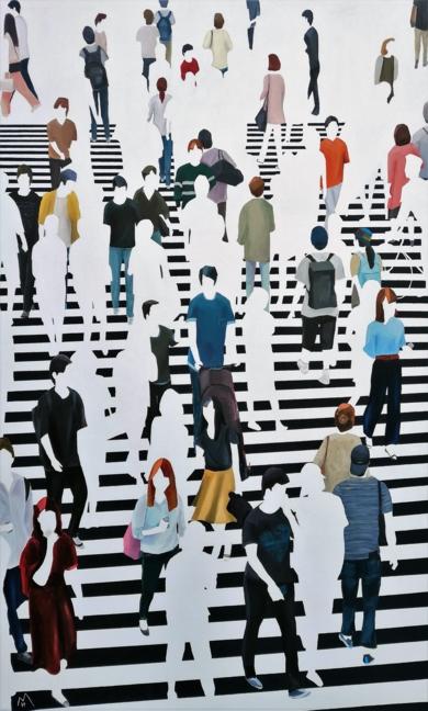 Nomophobia|PinturadeMARTTA GARCIA RAMO| Compra arte en Flecha.es