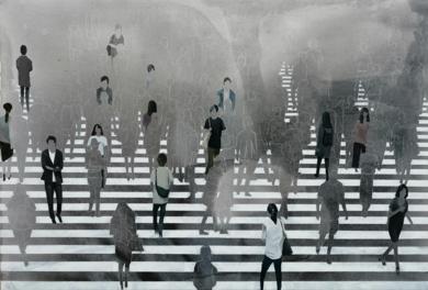 En el límite|PinturadeMARTTA GARCIA RAMO| Compra arte en Flecha.es