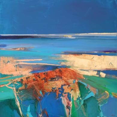 Woven Into The Satin Sands 1|PinturadeMagdalena Morey| Compra arte en Flecha.es