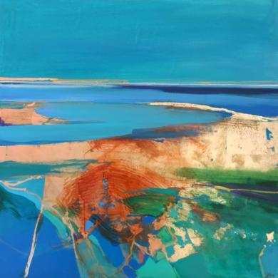 Woven Into The Satin Sands 2|PinturadeMagdalena Morey| Compra arte en Flecha.es
