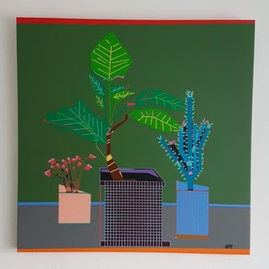 Familia / Family|PinturadePhilip Verhoeven| Compra arte en Flecha.es