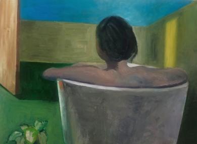 Bath time: Woman in a bathtube|IlustracióndeSusana Mata| Compra arte en Flecha.es