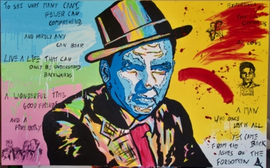 Director's Notes: Frank Sinatra|PinturadeAlvaro Linares Cuadrado| Compra arte en Flecha.es