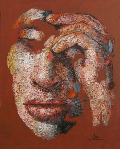 PERSONAJE 41, (SERIE GEOGRAFÍA HUMANA)|PinturadeJuan Chamizo| Compra arte en Flecha.es