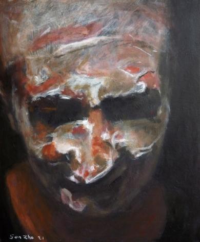 Colombina|PinturadeGonzho| Compra arte en Flecha.es