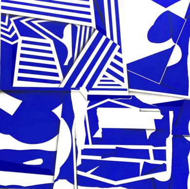 Blue Fields|PinturadeJesús Zuazo| Compra arte en Flecha.es