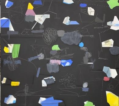 Cosmic debris|DibujodeJesús Zuazo| Compra arte en Flecha.es
