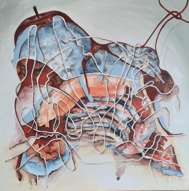 El monte manzano|CollagedeLoresaff| Compra arte en Flecha.es